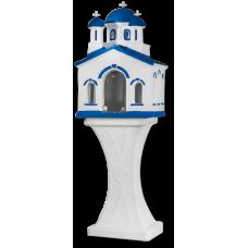 Εκκλησάκι μεγάλο – άσπρο μπλε