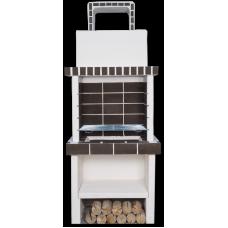Mini μοντέρνα ψησταριά με υποδοχή σχάρας 4 θέσεων