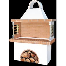 Ψησταριές κήπου- barbecue – BBQ με κίτρινο πυρότουβλο