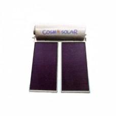 Cosmosolar CS – 120 VS 120Lt 2.00τμ glass boiler ηλιακός ταράτσας διπλής επιλεκτικός