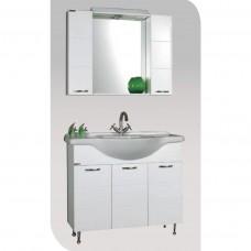 VIVID 105 Έπιπλο μπάνιου με ντουλάπι και φωτισμό