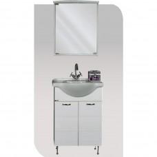 VIVID 55 Έπιπλο μπάνιου με ντουλάπι και φωτισμό