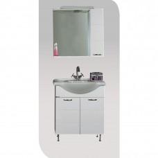 VIVID 85 Έπιπλο μπάνιου με ντουλάπι και φωτισμό
